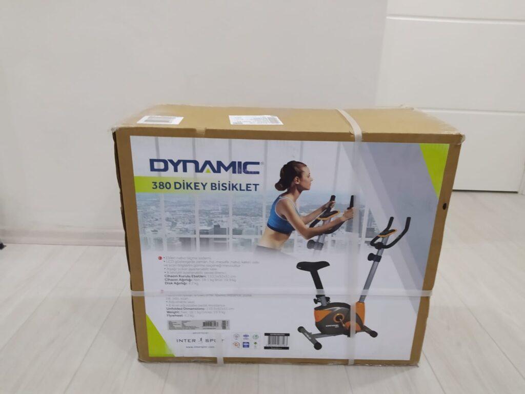 Dynamic 380 kondisyon bisikleti kutu açılımı