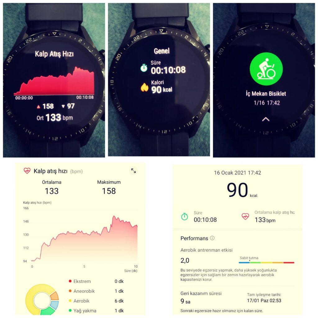 dynamic 280 dikey kondisyon bisikleti göstergesi huawei watch gt 2 egzersiz kalori hesabı