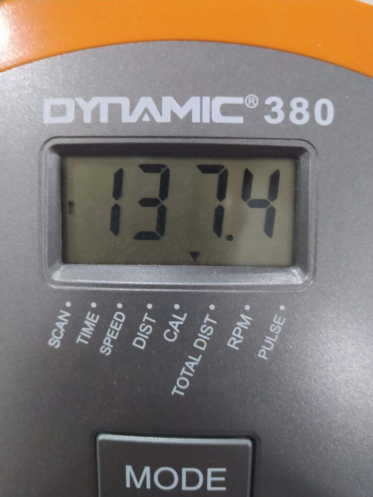 Kondisyon Bisikleti Kaç kalori Yakar dynamic 280 dikey kondisyon bisikleti göstergesi