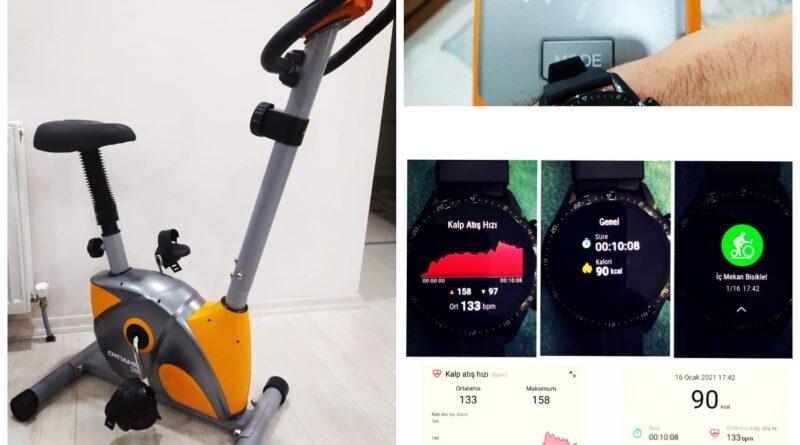 Kondisyon Bisikleti Kaç kalori Yakar? Huawei Watch Gt 2