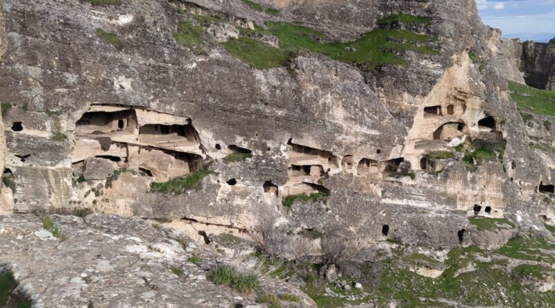 Hasuni Mağaraları silvan diyarbakır