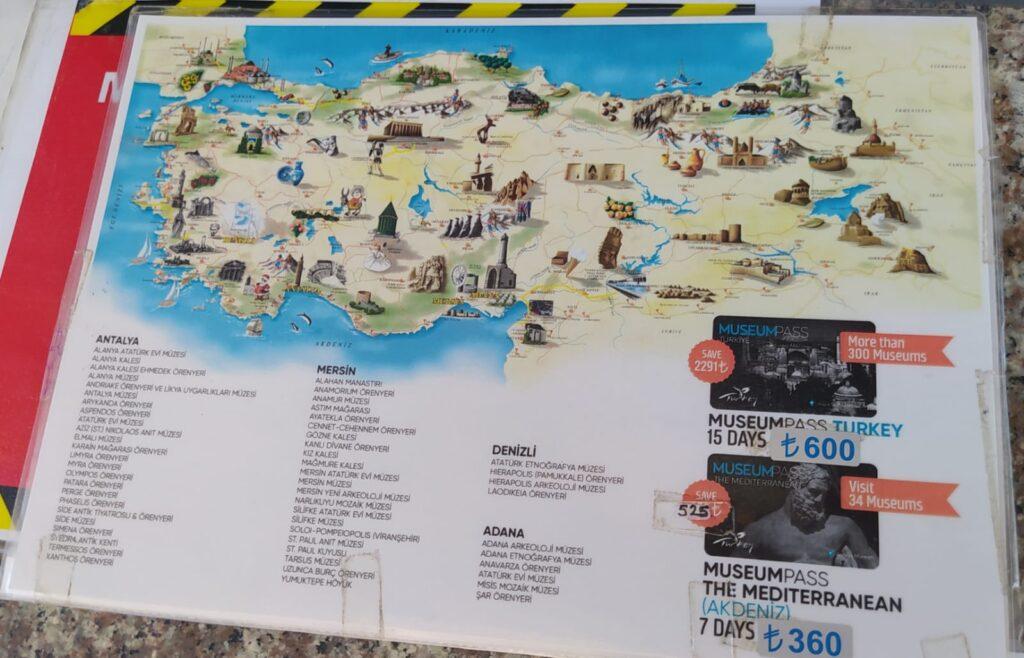 side antik kenti müze kart geçerli mi